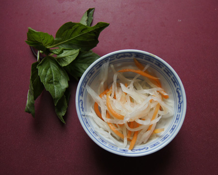 pickled daikon