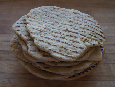 tortilla flat breads