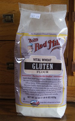 wheat gluten package