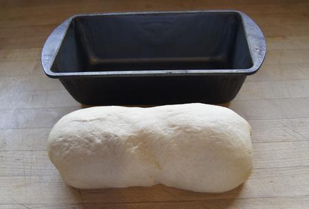 into pan
