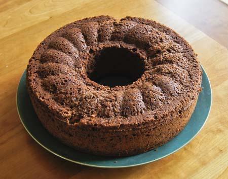 Cocoa Garden Cake