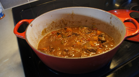 Lamb Stew with Cinnamon