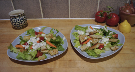 Green Goddess Salads