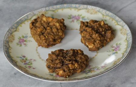 Spicy Oat Cookies