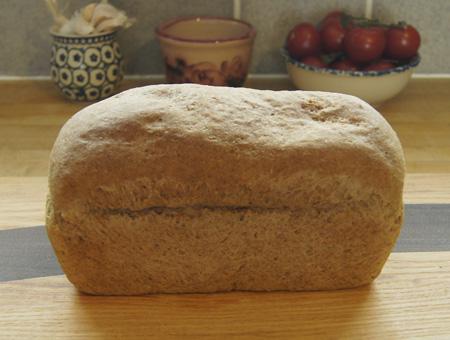 Rye Beer Bread loaf