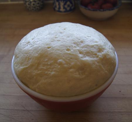 risen dough