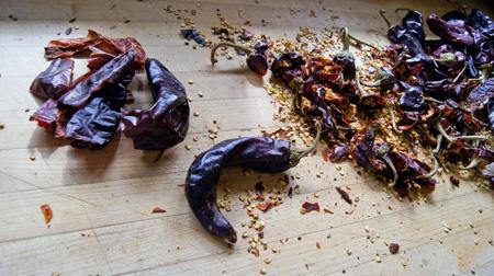 seeding chiles