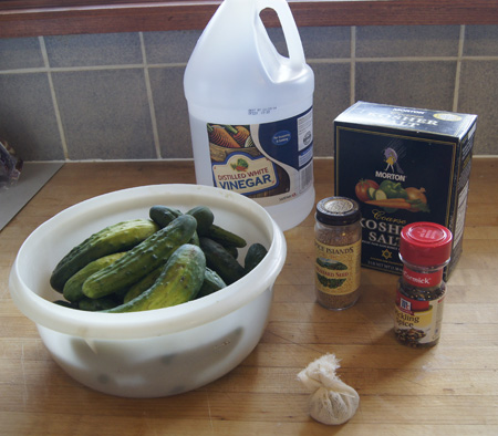 pickle ingredients