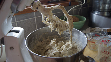 rye bread dough