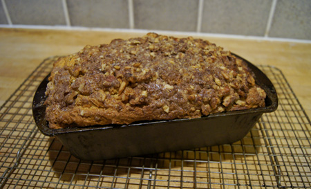Walnut-Sweet Potato Cake