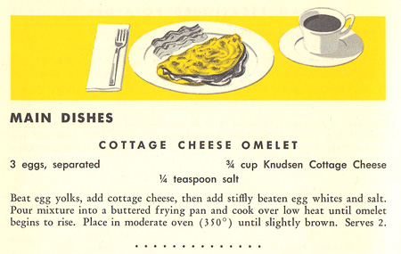 Cottage Cheese Omelet