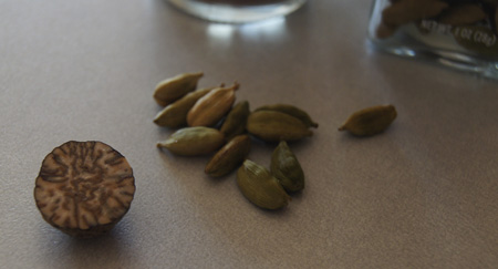 nutmeg and cardamom
