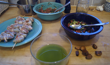 oils and vinegars prep