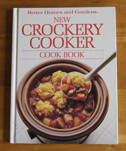 New Crockery Cooker Cookbook
