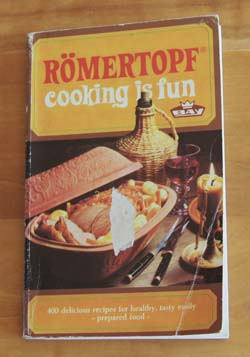 Romertopf Cooking is Fun