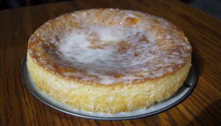 French-Style Yogurt Cake with Lemon