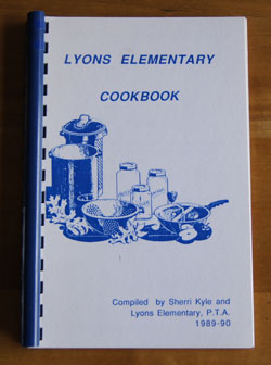Lyons Elementary Cookbook