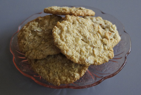 Coconut Refrigerator Cookies