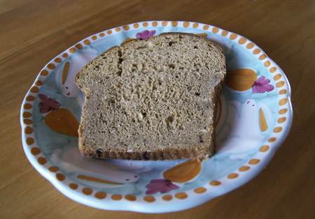 slice of Oatmeal Raisin Bread