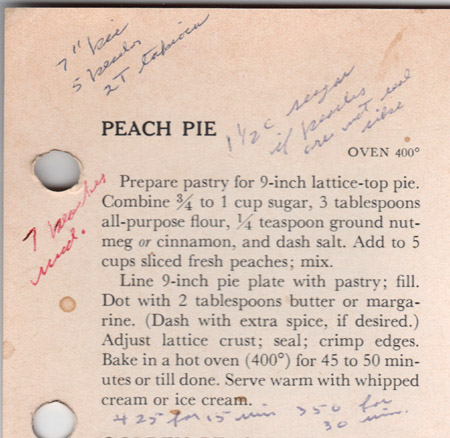 BHG Peach Pie recipe