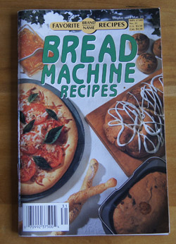 Bread Machine Recipes CB