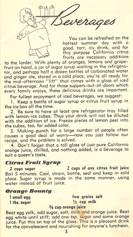 Citrus Fruit Syrup recipe