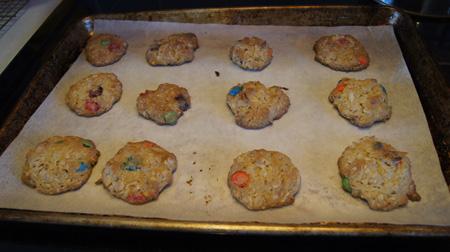 12 minutes baking