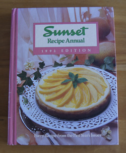 Sunset Recipe Annual 1992