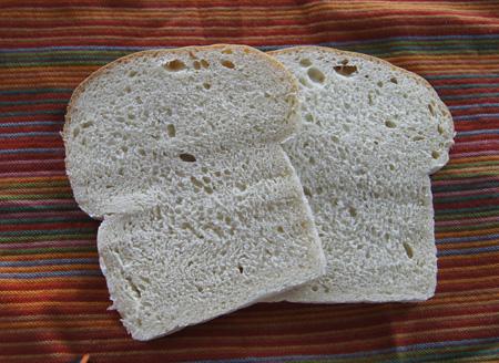 sourdough bread slices
