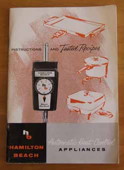 Automatic Heat Control Appliances Cookbook