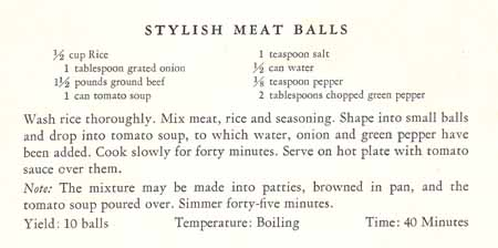 Stylish Meat Balls