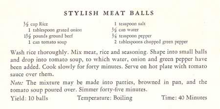 Stylish Meat Balls