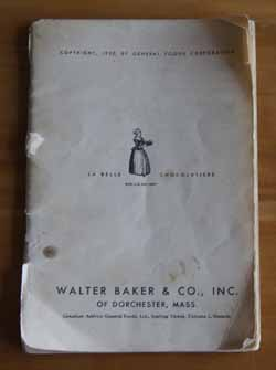 Baker'a Chocolate Cookbook