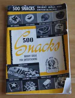 500 Snacks Cookbook
