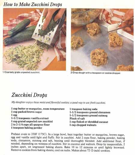 Zucchini Drops recipe