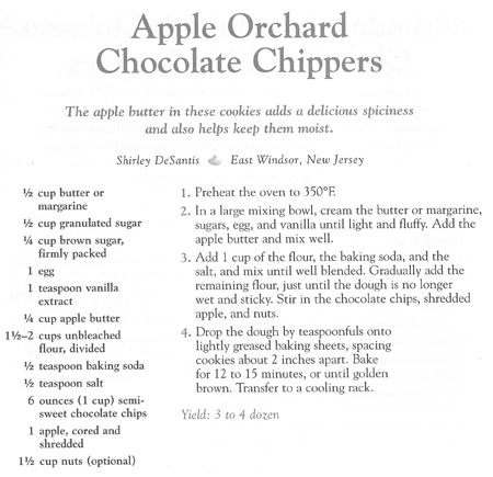 Apple Orchard Chocolate Chippers