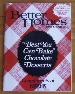 Best You Can Bake Chocolate Desserts cookbook