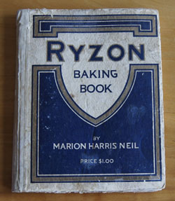 Ryzon Baking Book cookbook