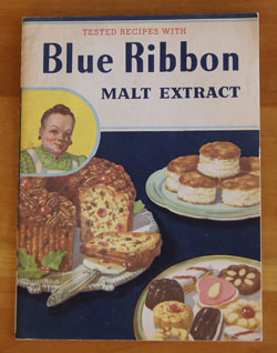 Blue Ribbon Malt Extract cookbook