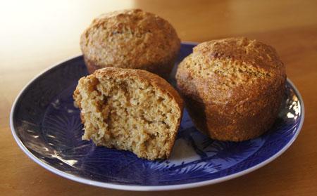 Malt Syrup Bran Muffins