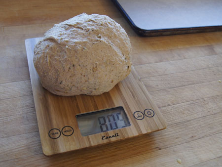 bagel dough