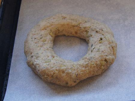 formed bagel