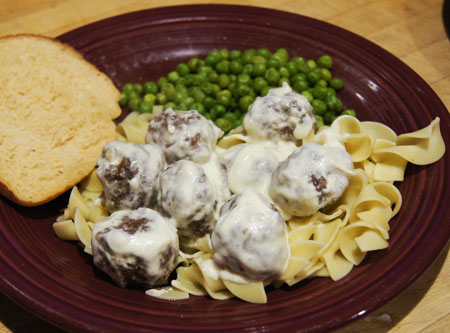Microwave Swedish Meatballs