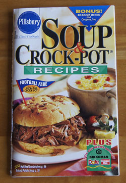 Soup and Crock-Pot Recipes cookbook