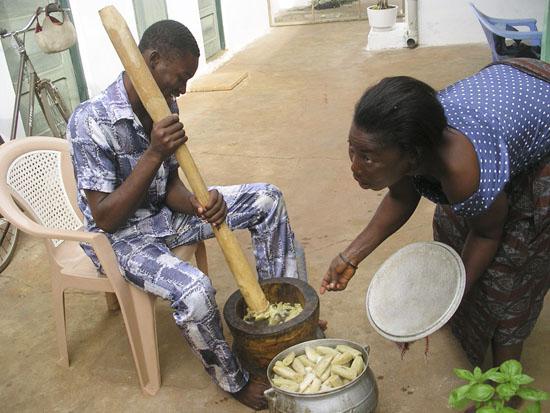 making fufu