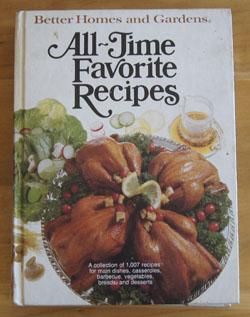 All-Time Favorite Recipes BHG cookbook