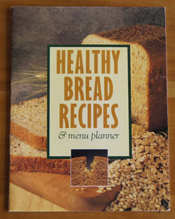 Healthy Bread Recipes cookbook