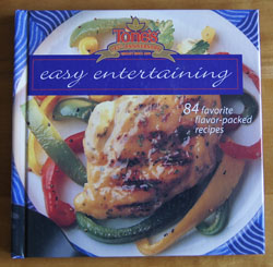 Tones Easy Entertaining cookbook