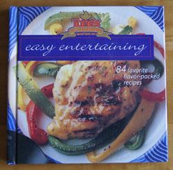 Tones Easy Entertaining cookbook