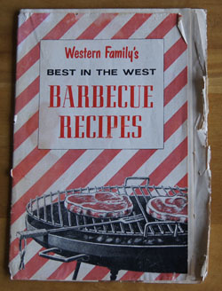 Best in the West Barbecue Recipes cookbook